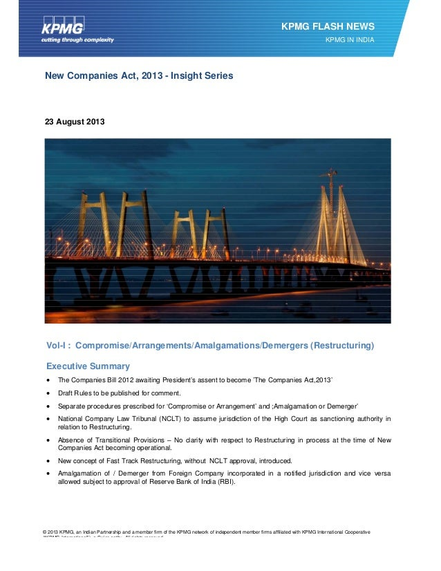 © 2013 KPMG, an Indian Partnership and a member firm of the KPMG network of independent member firms affiliated with KPM...