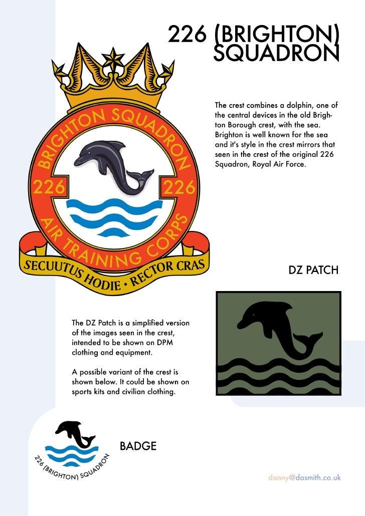 Brighton Air Cadets Crest Document