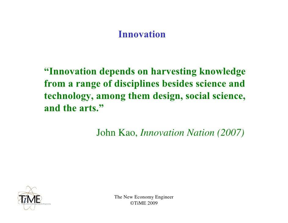 innovation nation kao john