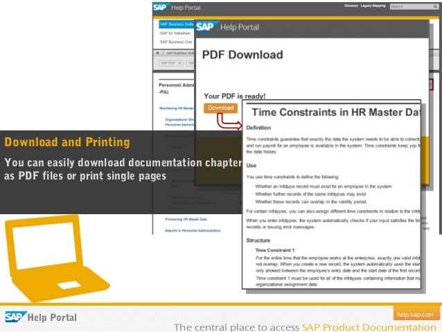 Pdf sap documentation