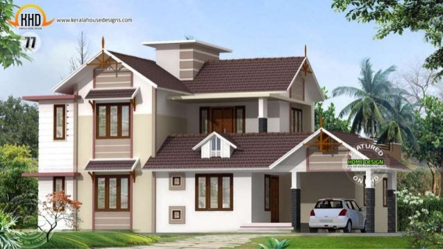 New kerala house plans april 2015 for New home plans