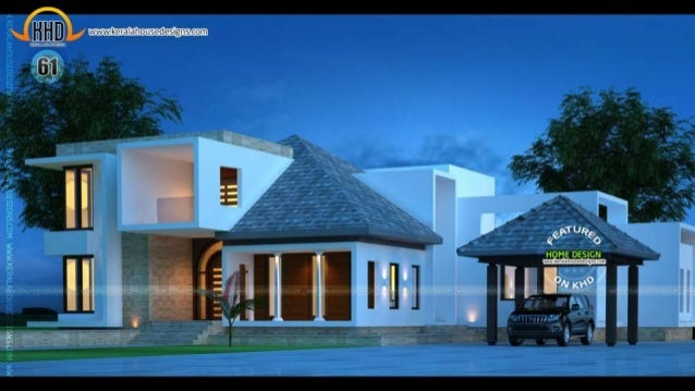 House plans of march 2015 for Latest house designs 2015