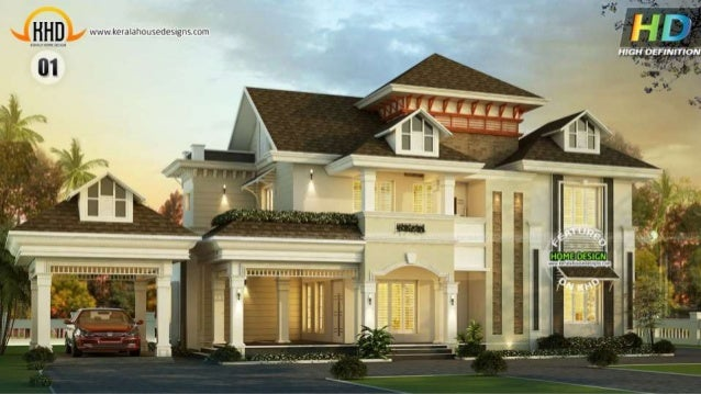 Exclusive new house plans of november 2015 for Latest house designs 2015