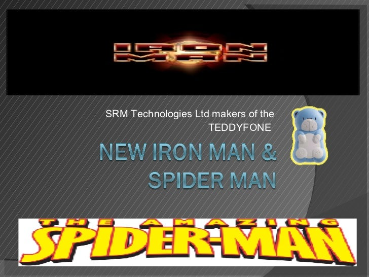 SRM Technologies Ltd makers of the  TEDDYFONE