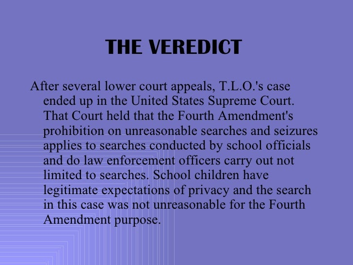 the fourth amendment new jersey vs Witt sought at trial to suppress the gun on the ground that police performed an  unreasonable search in violation of the the state constitution, and.