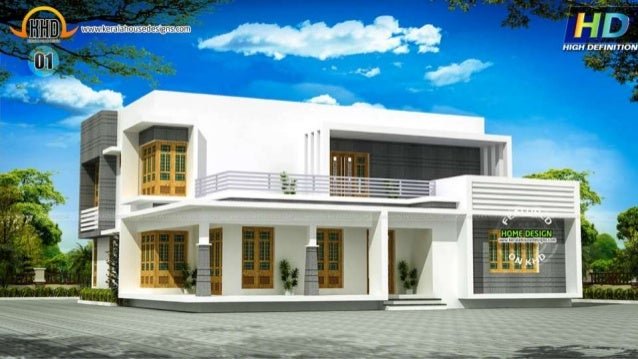 New kerala house plans august 2015 for New latest house design