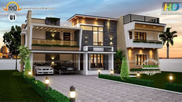 New kerala house plans september 2015 for Latest house designs 2015