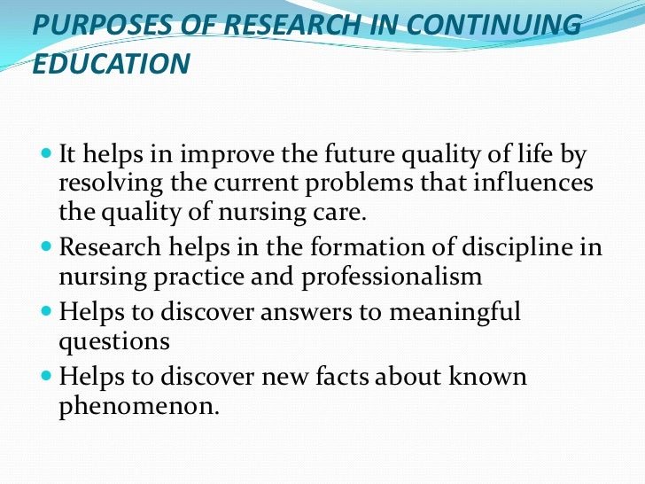 "determination of the current influences of research utilization in nursing practice Research utilization in practice, yet community hospitals have been largely  omitted  health outcomes and are consistent with current professional  knowledge""  patient choices and concerns for determining the acceptability of  research-based  factors which influence the rate of adoption of potential  innovations include."