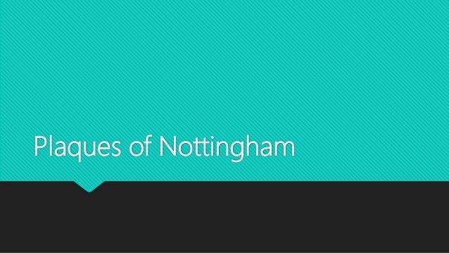 Plaques of Nottingham