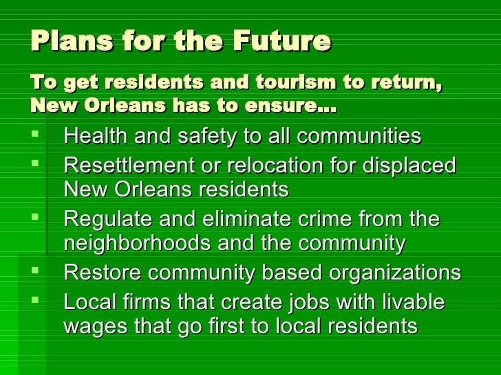 economics of new orleans Economic impact of tourism (continued): • new orleans' integrated tourism interests are essentially louisiana's third fortune 500 company and the leading economic development corporation in the city of new orleans,.