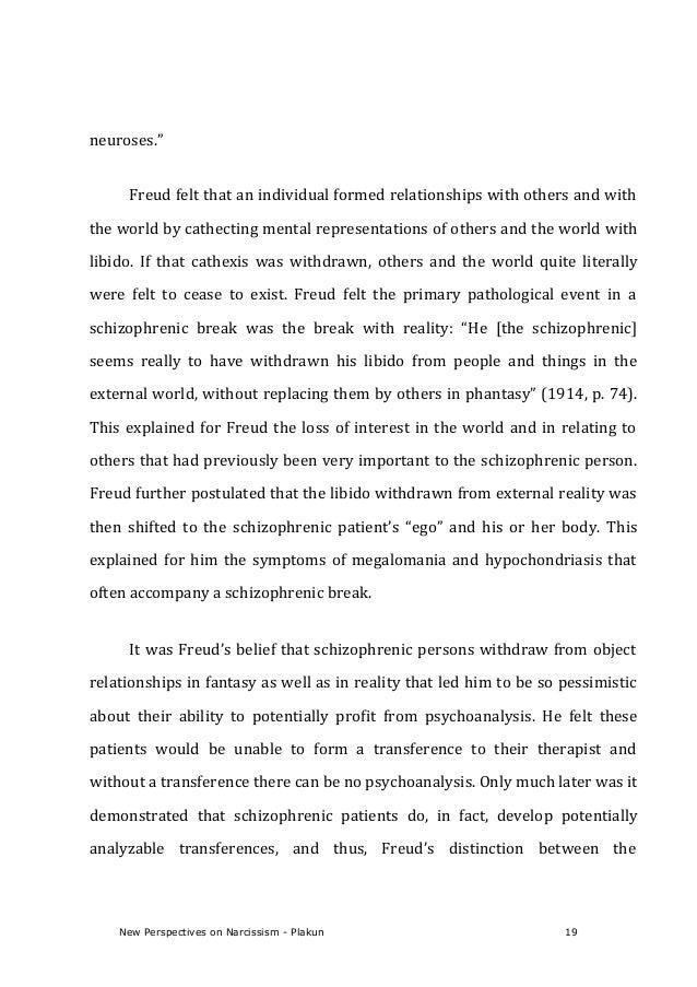 Pathological narcissism relationships