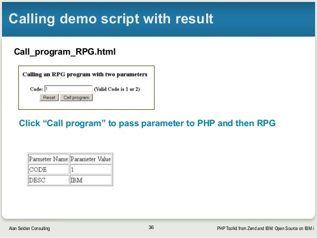 PHP Toolkit from Zend and IBM: Open Source on IBM i