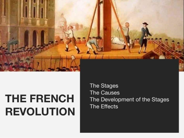 causes and effects of the age of enlightenment of the french revolution in 1789 A creature of the enlightenment neither the french revolution nor the wars of   revolutions, age of  the time of the french revolution (1789.
