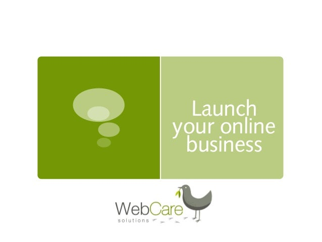 Launch your online business