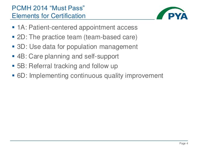 Roadmap to the Patient-Centered Medical Home