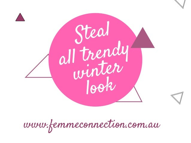 New trends to look out for 2018 winter season