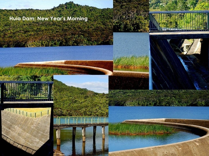 Huia Dam: New Year's Morning