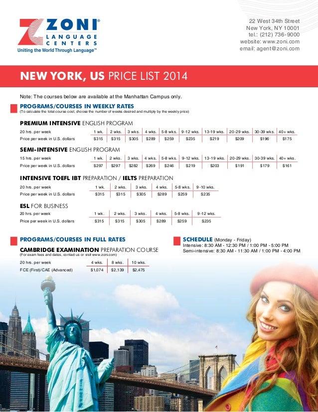 22 West 34th Street  New York, NY 10001  tel.: (212) 736-9000  website: www.zoni.com  email: agent@zoni.com  New York, US ...