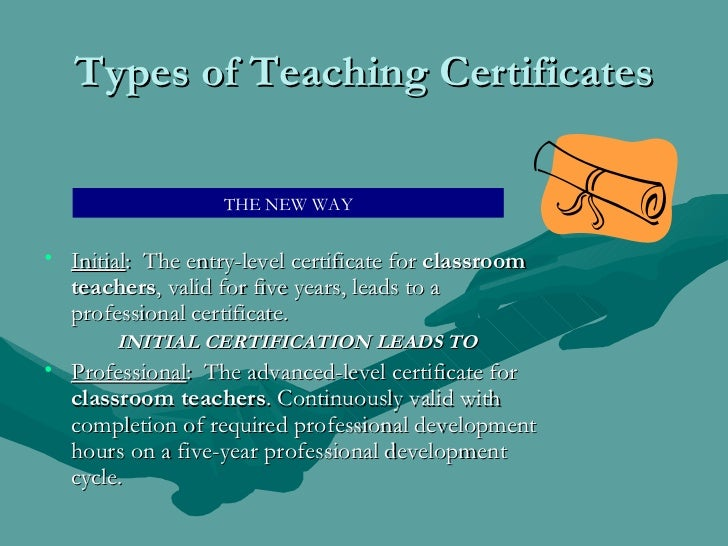 what states accept nys teaching certification