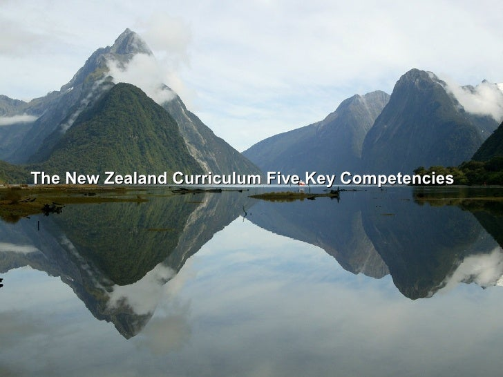 The New Zealand Curriculum Five Key Competencies