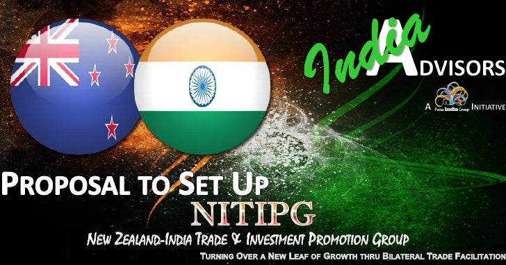 NEW ZEALAND-INDIA TRADE & INVESTMENT PROMOTION GROUP