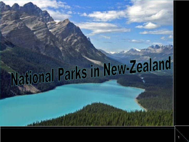 National Parks in New-Zealand