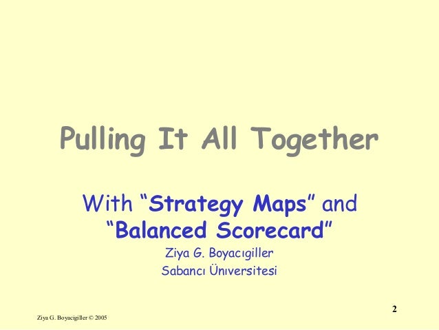 New 13 strategy-maps bsc integrative-thinking Slide 2
