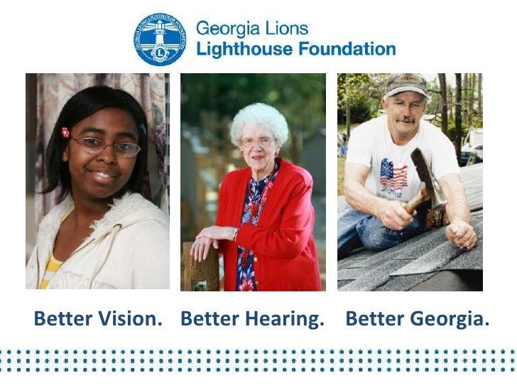 Better Vision. Better Hearing. Better Georgia.
