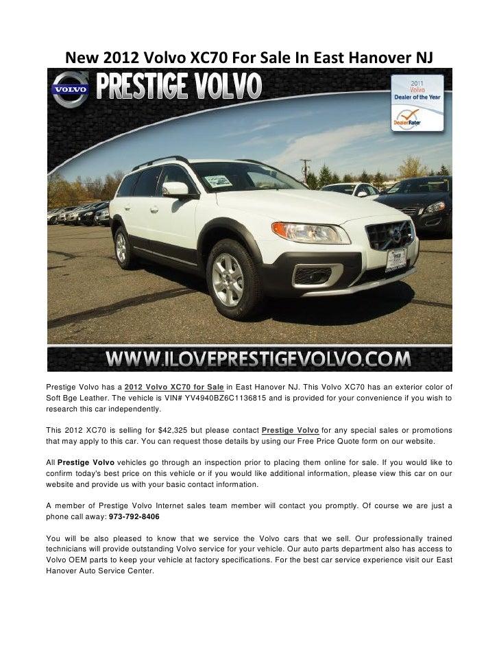 Prestige volvo service