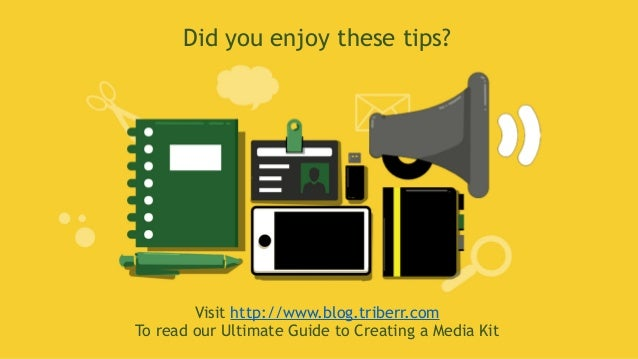 8 Powerful Tips for Creating a Media Kit