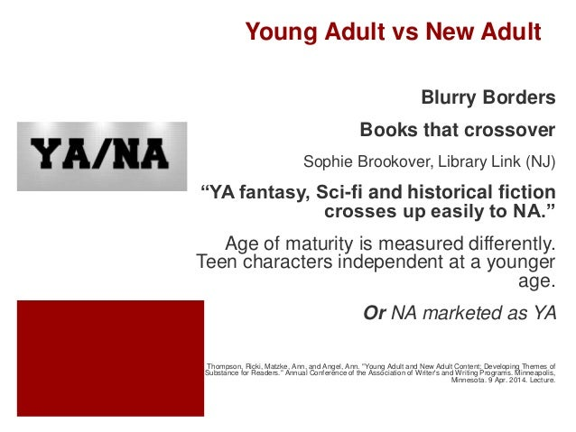 What Is This New Adult Fiction A New Category Of