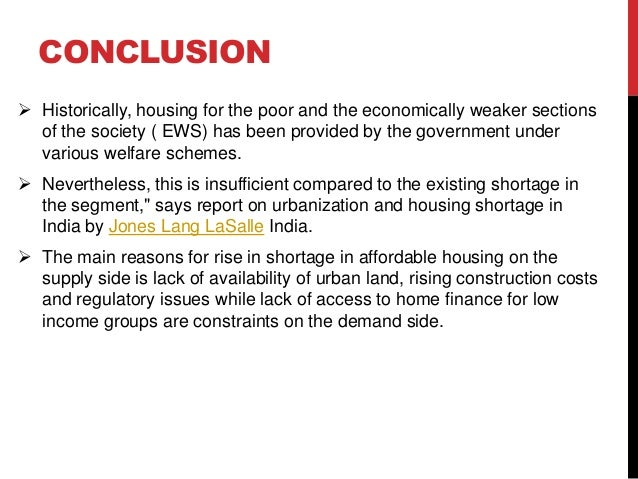 housing problems in india pdf
