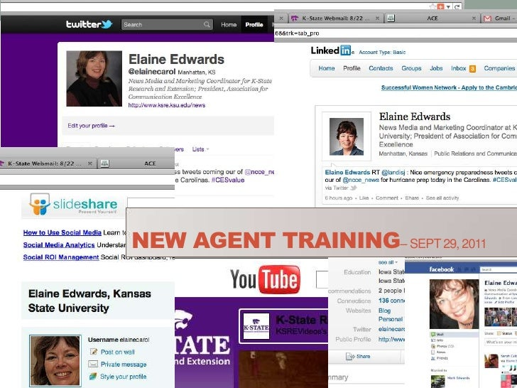 New Agent Training– Sept 29, 2011<br />