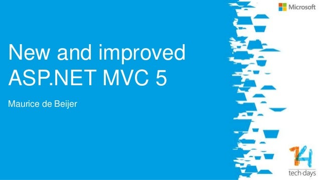 New and improved ASP.NET MVC 5 Slide 3