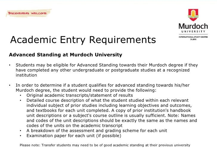 Study in Murdoch University - Students from ...