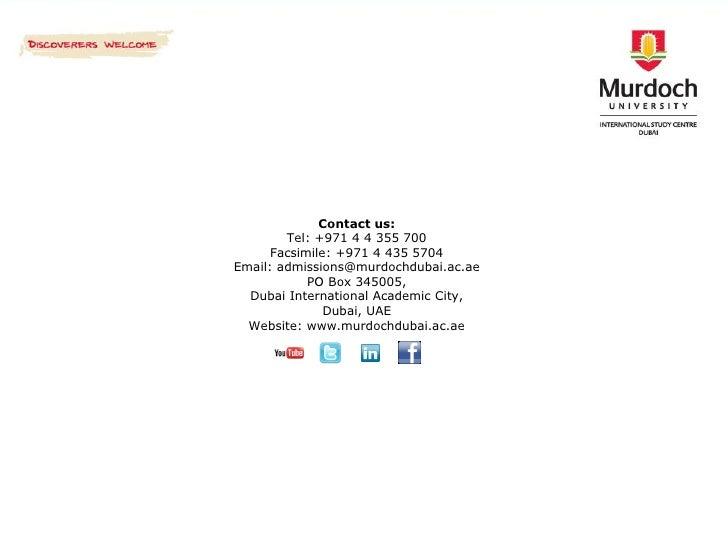 Murdoch University | Top Universities