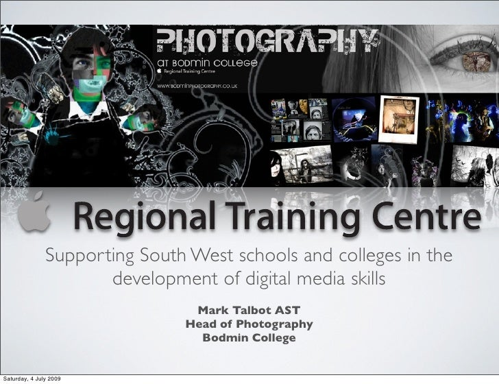 Supporting South West schools and colleges in the                       development of digital media skills               ...