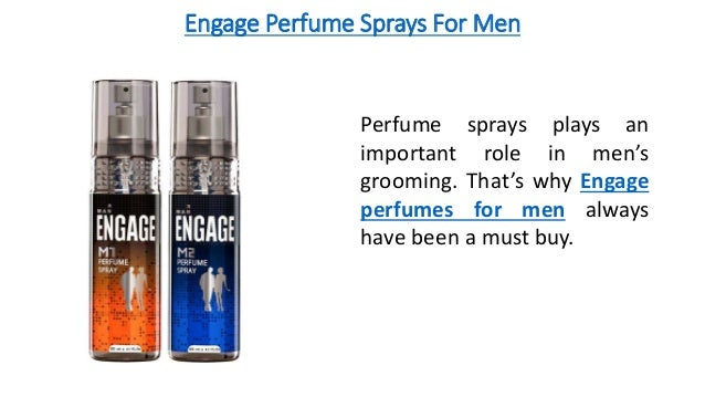 Engage Perfume Sprays For Men Perfume sprays plays an important role in men's grooming. That's why Engage perfumes for men...