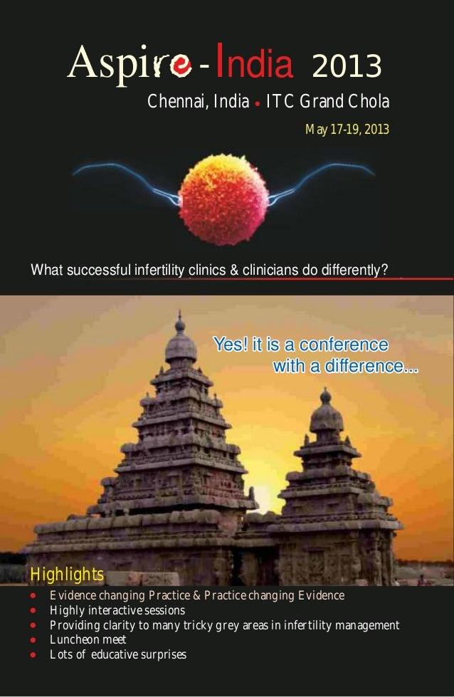 Aspi                      - India               2013                      Chennai, India ITC Grand Chola                  ...