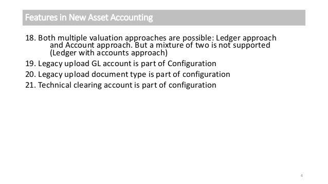 New Asset Accounting in S4 HANA