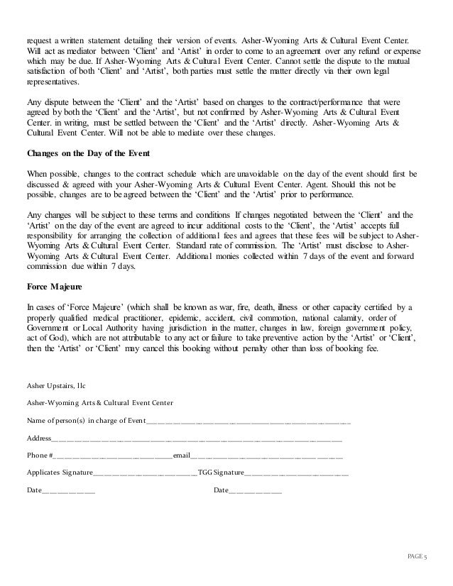 Room Rental Contract Printable Sample Rental Lease Agreement