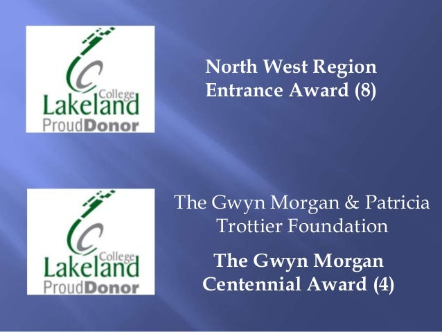 Lakeland College New Awards 2013 14
