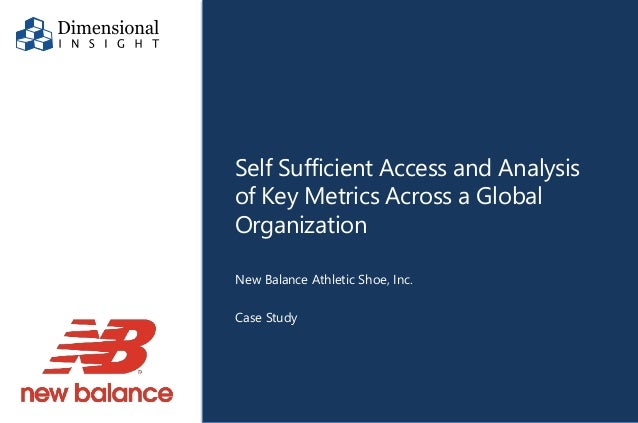 new balance a case study New balance has a distinct business model: in terms of marketing, advertising expenditure was the lowest in 2005 compared to the other competitors the company puts its energies and money rather into research, design, and domestic manufacturing.