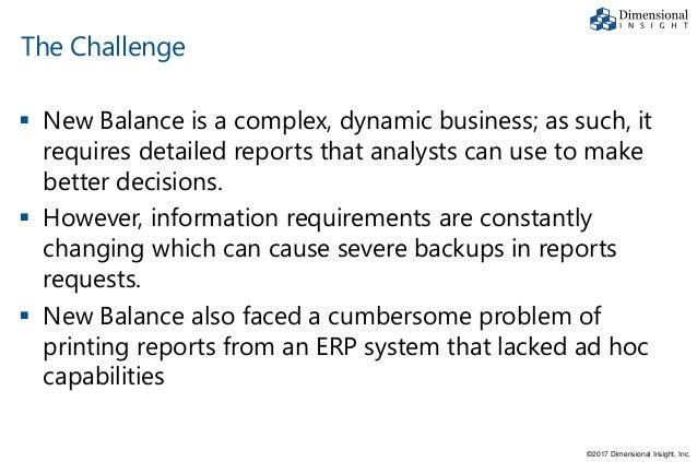 New Balance BI Case Study