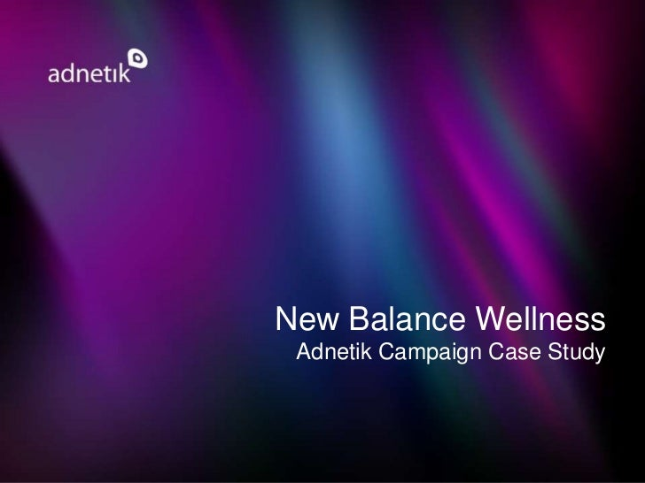 New balance case study capabilities and