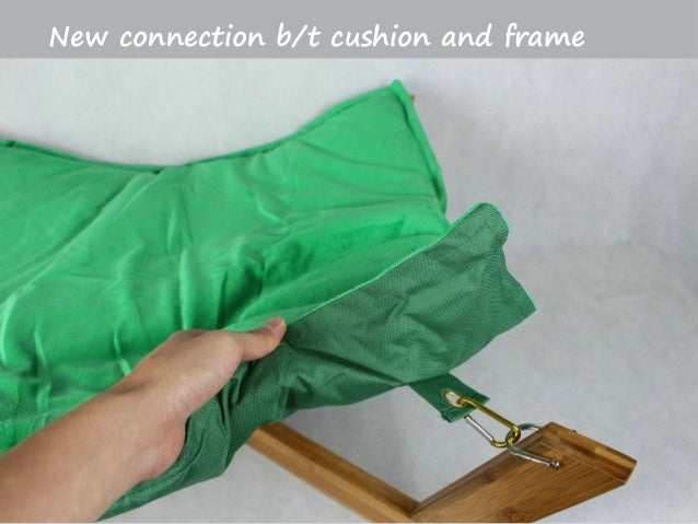 new connection b t cushion and frame     new bamboo hammock pet bed  rh   slideshare