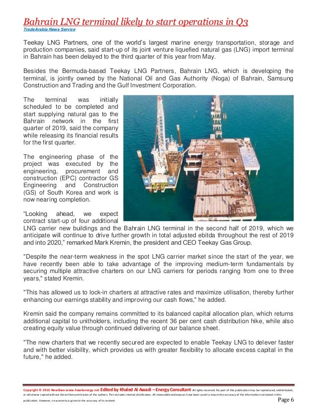 New base 05 june 2019 energy news issue 1250 by khaled al awadi