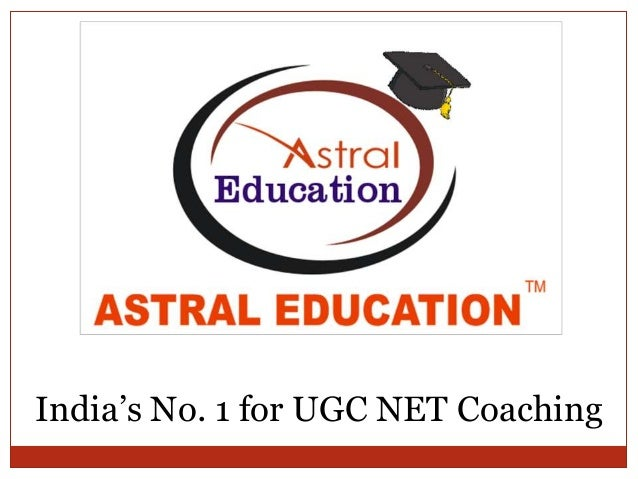 India's No. 1 for UGC NET Coaching