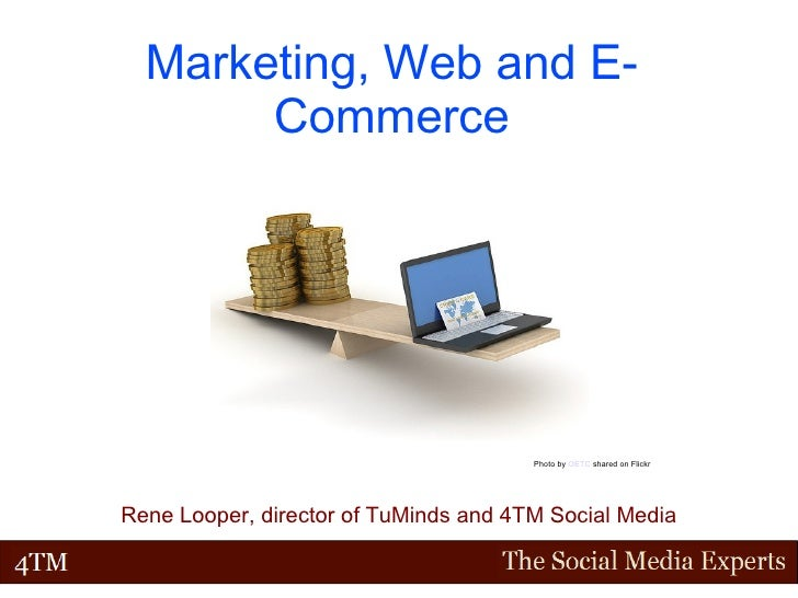 Marketing, Web and E-Commerce Rene Looper, director of TuMinds and 4TM Social Media Photo by  OETC  shared on Flickr