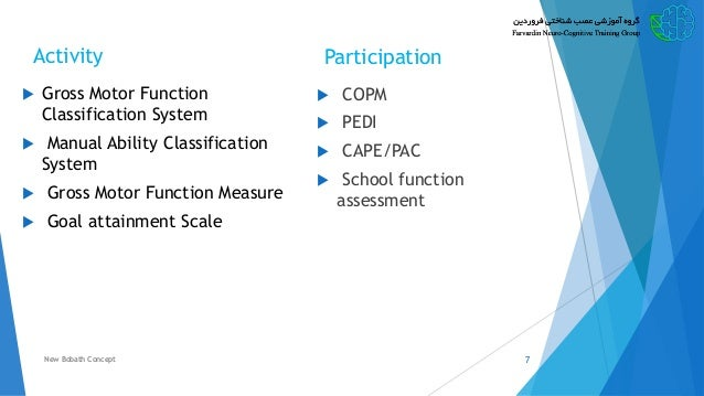 evaluation of children with cerebral palsy based on icf rh slideshare net Alberta Motor Assessment school function assessment manual download